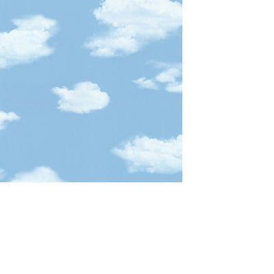Papel de Parede Nuvem Azul