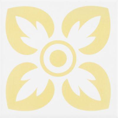 Revestimento Horizon Amarelo Acetinado 15x15 cm