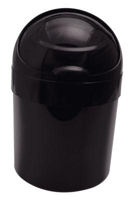 Lixeira Plástica Basculante 6 Litros Preto
