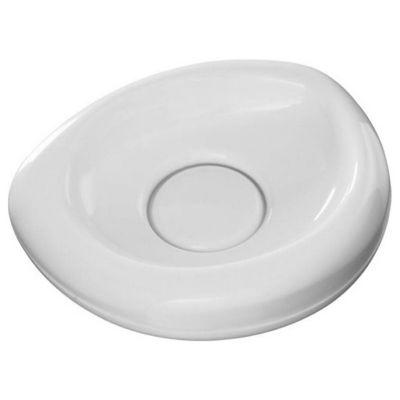 Saboneteira Plástica de Mesa Branco