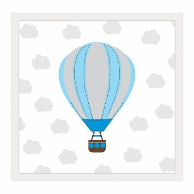 Quadro Infantil sem Vidro 27x27cm Balão