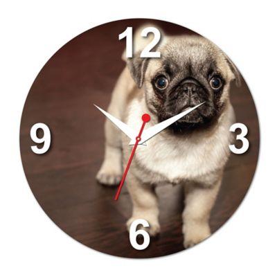 Relógio de Parede Cachorro Pug