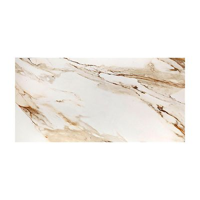 Porcelanato Eterno Borghini White Natural 58,4x117cm Caixa com 1,37m²