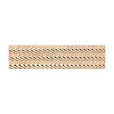 Porcelanato Zigue Chevron Gr Matte 28,8x119cm Retificado Caixa com 1,03m²