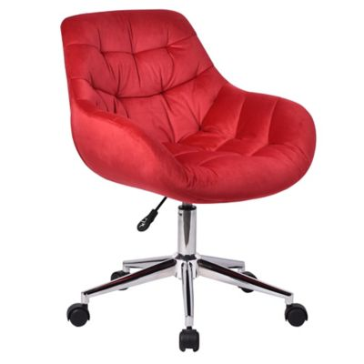 Cadeira Deco Botões Vermelha