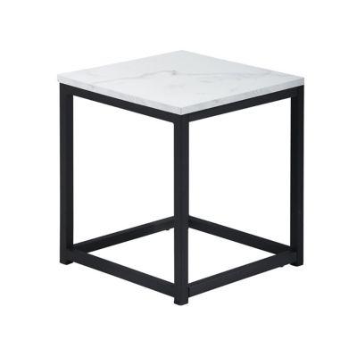 Mesa Lateral Quadrada Marble