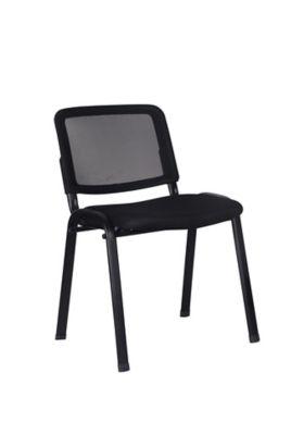 Cadeira de Visita  Mesh Preto