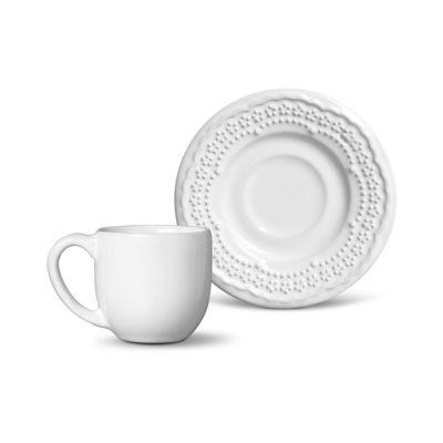 Xícara Café Madeleine 72ml Branco