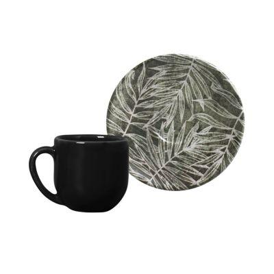 Xícara Café Coup Herbarium 112ml Colorido