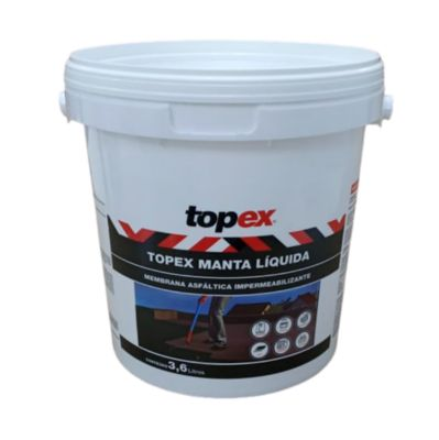 Topex Manta Líquida Pto Galão 3,6Kg Topex