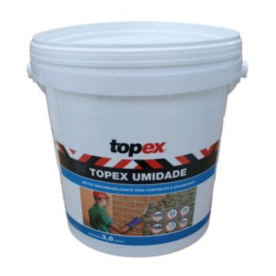 Topex Umidade Galão 3,6 Litros Topex