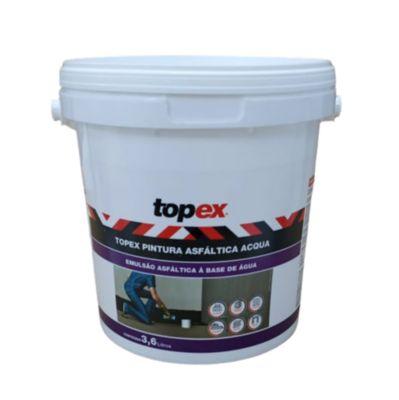 Pintura Asfáltica Acqua Gl 3,6 L Topex
