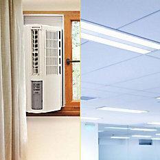 Iluminação e Climatização
