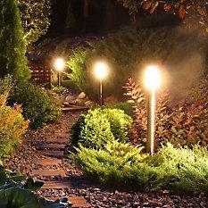 Luminárias de Piso e Parede