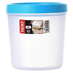 Contenedor de alimentos plástico 1 litro
