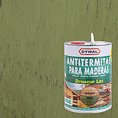 Preservante de madera satinado 1 gl Verde
