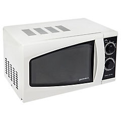 Horno microondas análogo 17 litros blanco