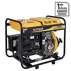 Generador eléctrico a diesel 4500 W 5 hr