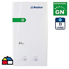 Calefont a gas natural 13 litros tiro natural