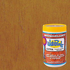 Barniz impermeabilizante semibrillante 1/4 gl Alerce