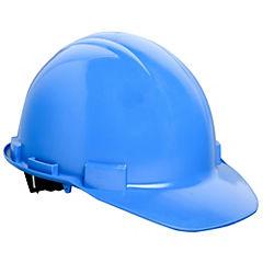 Casco de seguridad con roller azul