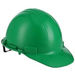 Casco de seguridad con roller verde
