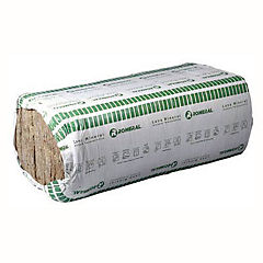 0.5x1.2 m 50mm Lana mineral colchonetas 1 cara revestido papel kraft