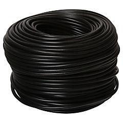 Cordón 2x0,75 mm 100 m Negro