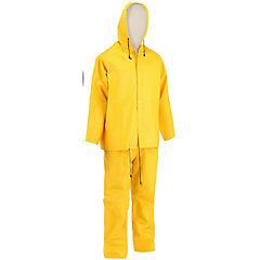 Traje impermeable antidesgarro talla XL amarillo