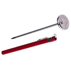 Termómetro para cocinar rojo