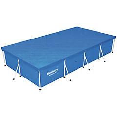 Cobertor para piscina rectangular 399x210 cm