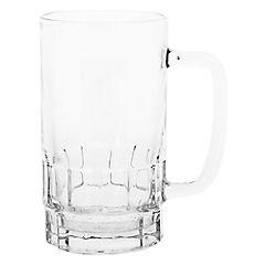 Vaso para cerveza vidrio 250 cc