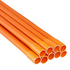 Set de tubos 20mm 300 cm PVC 9 unidades
