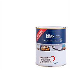 Pintura látex 1/4 gl blanco perfecto