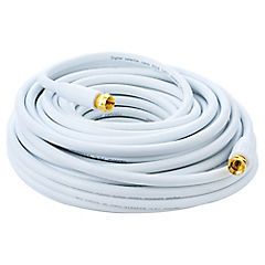 Cable Coaxial 15mts. blanco