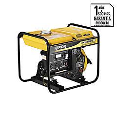 Generador eléctrico a diesel 1100 W