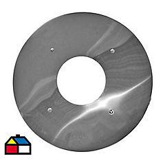 Tapacielo galvanizado 6 pulgadas/320mm., Amesti