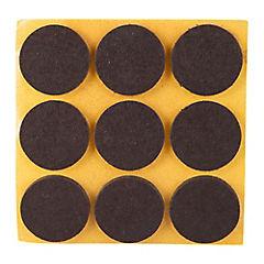 Set de fieltros protectores 26 mm 9 piezas