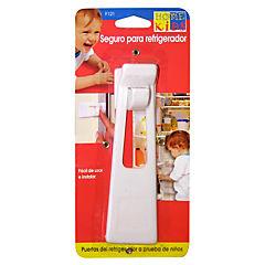 Seguro para puerta de refrigerador plástico Blanco