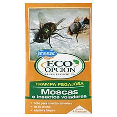 Trampa de cebo para moscas e insectos voladores