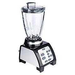 Licuadora vidrio 1,25 litros negro/gris