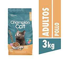 Alimento seco para gato adulto 3 kg pollo