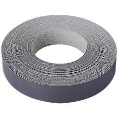 21 mm 10 m Tapacanto melamina pre-encolado gris grafito,