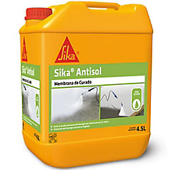 Bidón 4.5 lt Membrana de curado Sika Antisol