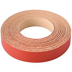 21 mm 10 m Tapacanto melamina pre-encolado rojo,