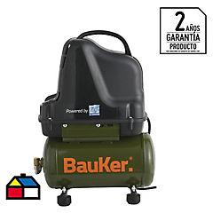 Compresor de aire portátil 1 HP 6 litros