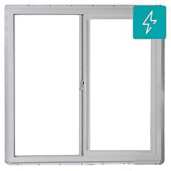 100x100 cm Ventana Termopanel PVC Blanco