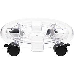 Base para macetero con ruedas 30 cm de plástico