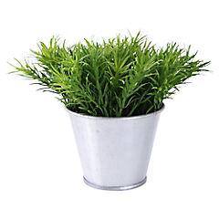 Cáctus artificial 6 cm Verde