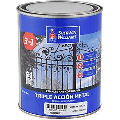 Anticorrosivo Triple Acción Verde Petróleo 1/4 galón